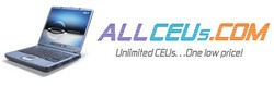 AllCEUs.com Unlimited NBCC and NAADAC approved CEUs, $99 per year.