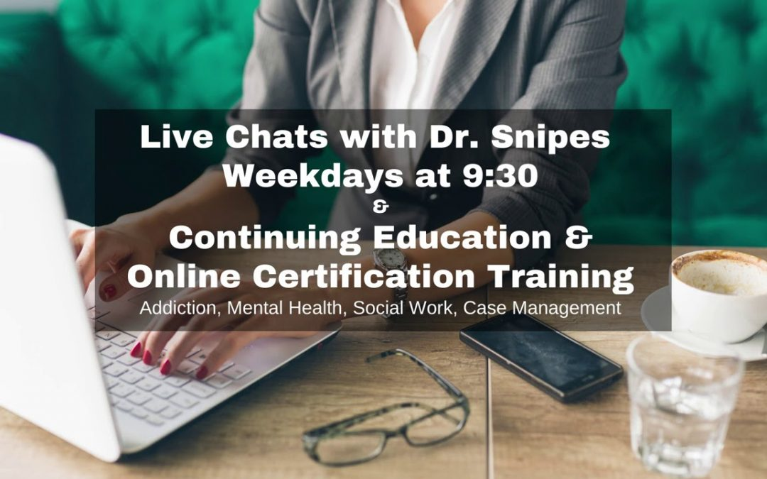 Subscribe to be notified of live chats, new videos and CEU Coupons