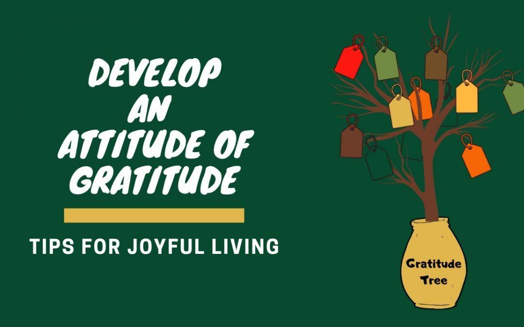 Attitude of Gratitude for Joyful Living : PACER Integrated Behavioral Health