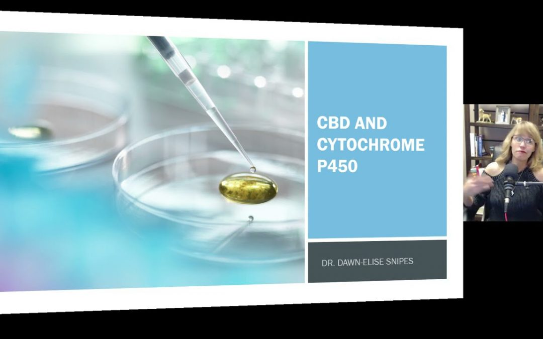 CBD and Cytochrome P450