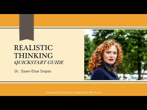 Realistic Thinking: Quickstart Guide