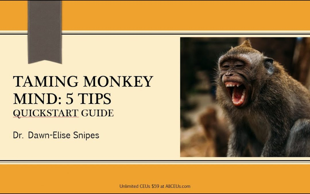 Taming Monkey Mind: Quickstart Guide