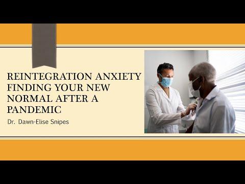 Reintegration Anxiety